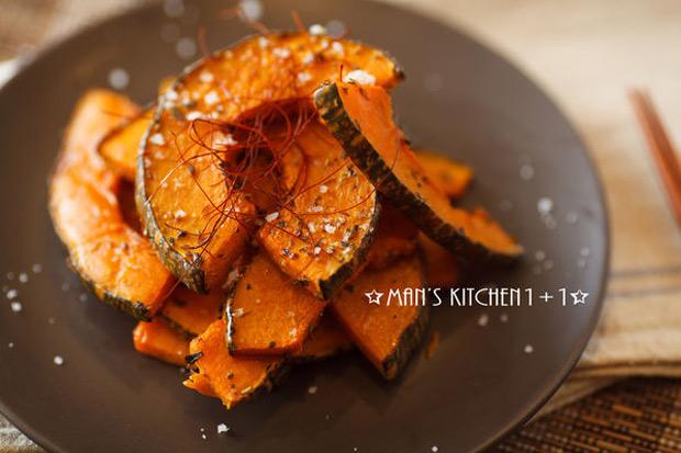 簡單吃到天然蔬食原味:香料烤南瓜