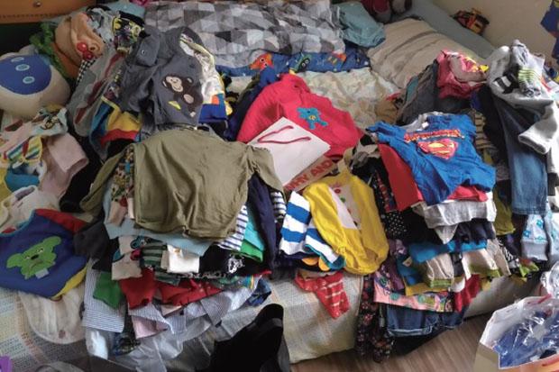 房間雜物壓縮生存空間?整理房間從衣物開始