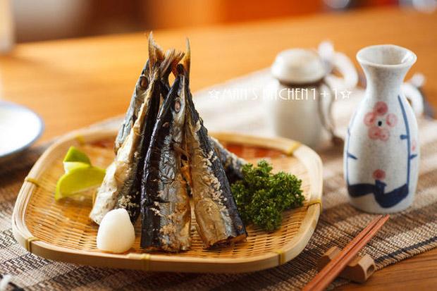 最純粹的海味:鹽烤秋刀魚