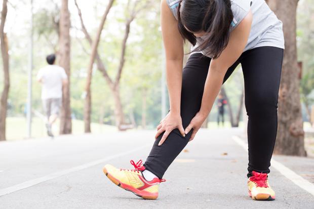 運動性小腿肌腔室症候群