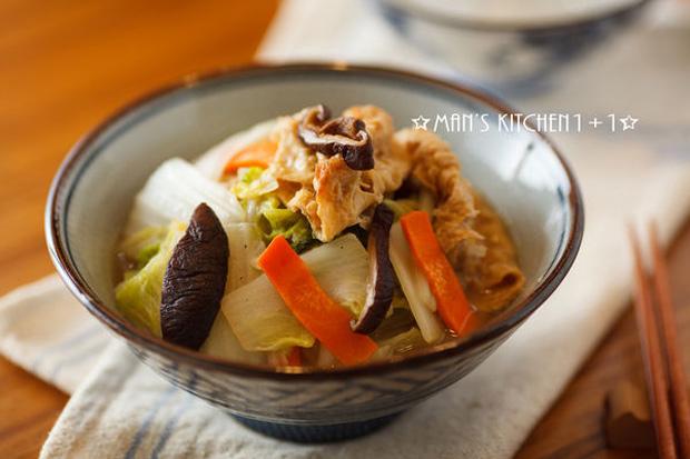 當季食材最好吃!豆皮炒白菜
