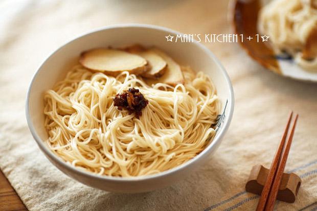 天冷暖胃的簡單好料理:麻油麵線