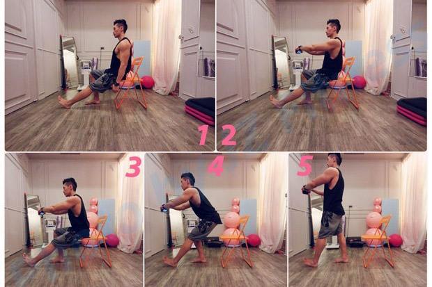 肌肉流失胖與累跟著來?4個椅子動作練下半身,提高代謝促循環