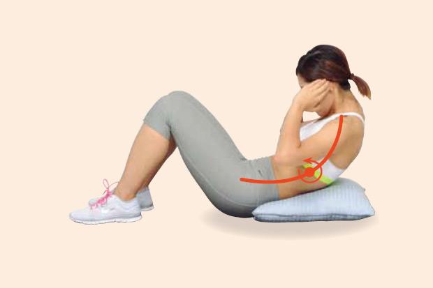 讓身體變柔軟的「腹部肌肉訓練」