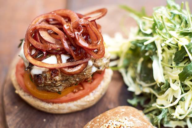 油脂量減半!健康療癒料理:義式超級漢堡