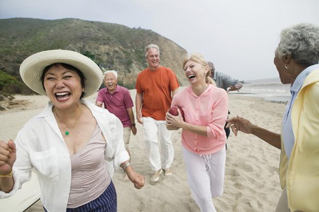 愛自己,邁向幸福與長壽