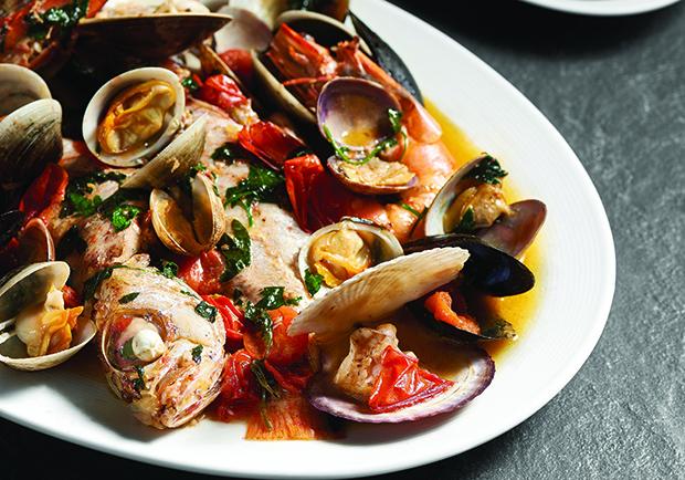 義大利海鮮料理:義式水煮魚