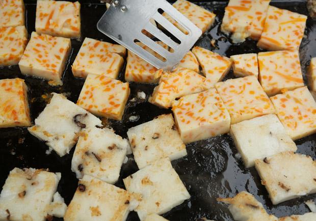 早餐店的蘿蔔糕是真的嗎?還是澱粉混充呢?