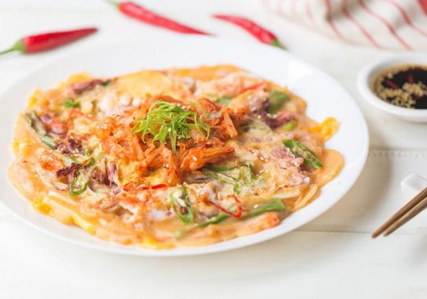 清冰箱也能吃大餐:韓式海鮮煎餅