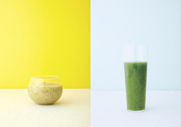 改善腸胃、緩解便秘的健康飲料:奇異果蔬果昔