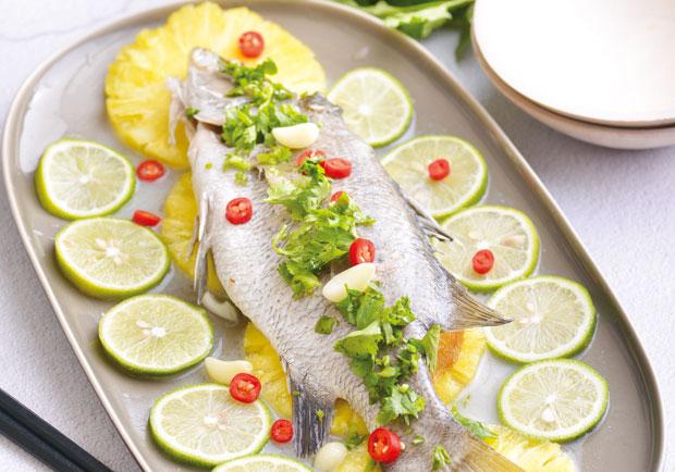 促進身體酸鹼平衡的美味料理:鳳梨檸檬魚
