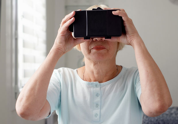 VR讓認知症患者能懷舊,讓照護者有同理心