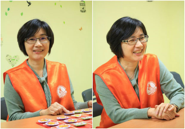 她不到50歲就退休,樂助視障者重返社會