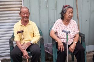 照顧山中獨居老人的營養