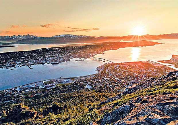 現在起,太陽不下山!-永晝,北挪威Tromsø