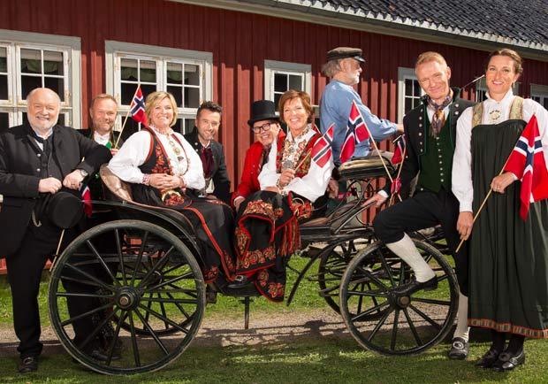 彷彿時空錯亂,挪威人的傳統服裝!BUNADER