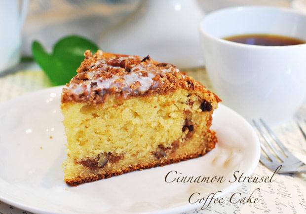 無法抗拒的誘惑:肉桂佐咖啡蛋糕
