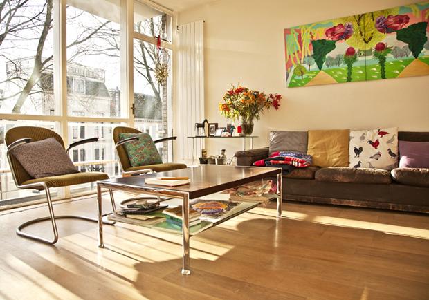 用創作佈置居家風格 荷蘭畫家 Uzine 的家