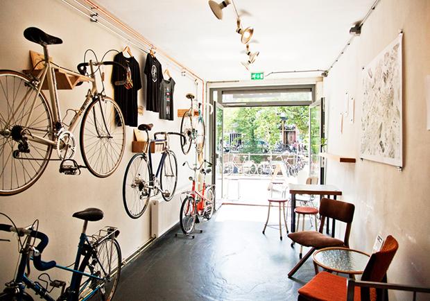 荷蘭單車風咖啡廳 Blackbird coffee & vintage