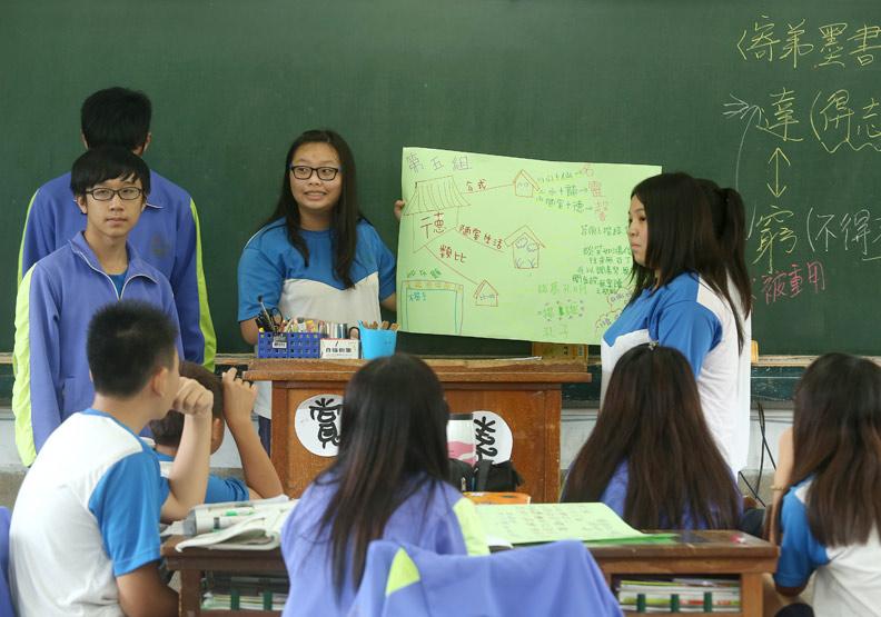 活用「學思達」 引導學生自學、思考、表達