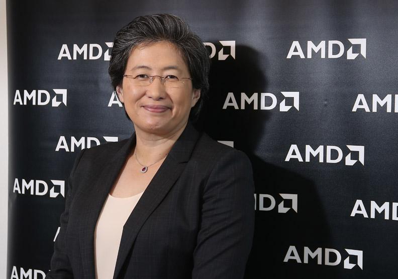 蘇姿丰帶領AMD股價成長354%
