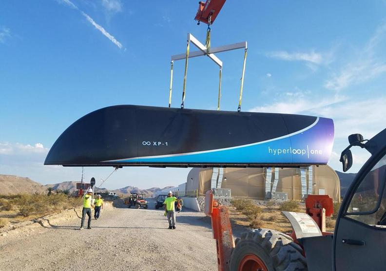 真空高鐵首測成功 創辦人:「我們創造自己的天空」