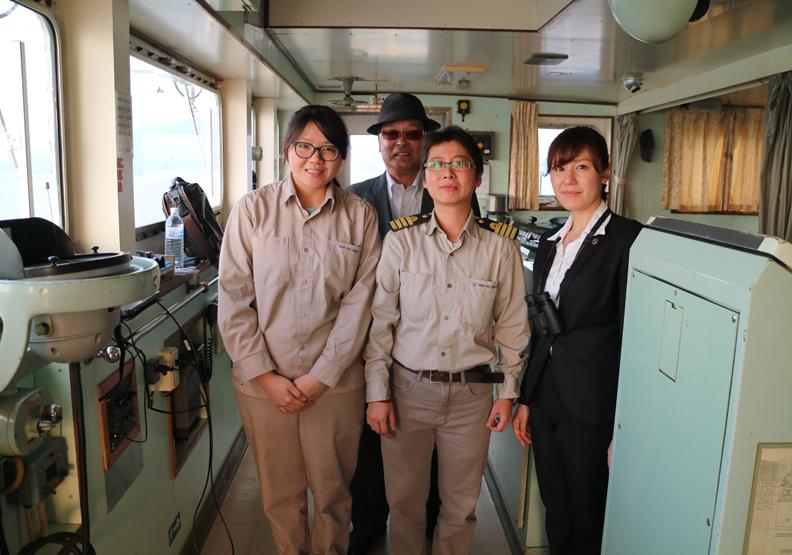 海上女傑「引水人」黃昭玲 台灣首位女領港