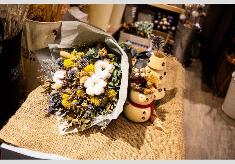 跟上潮流學 DIY 乾燥花,讓家變得更溫暖