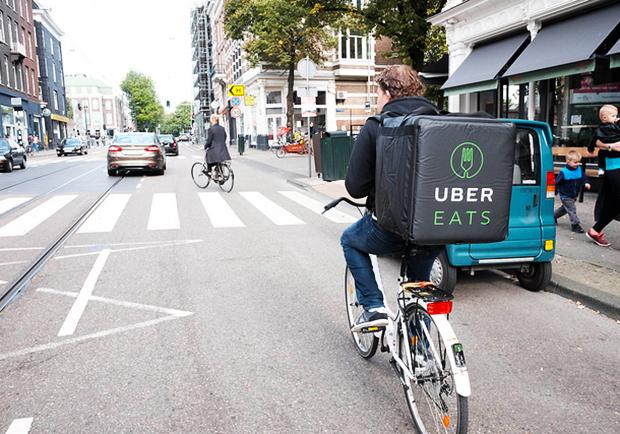 Uber擴大戰線,推餐飲外送服務!Uber EATS 台北正式上路