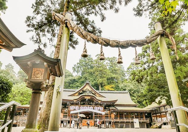 造訪日本最早神社:大神神社!一窺特殊的「繩鳥居」