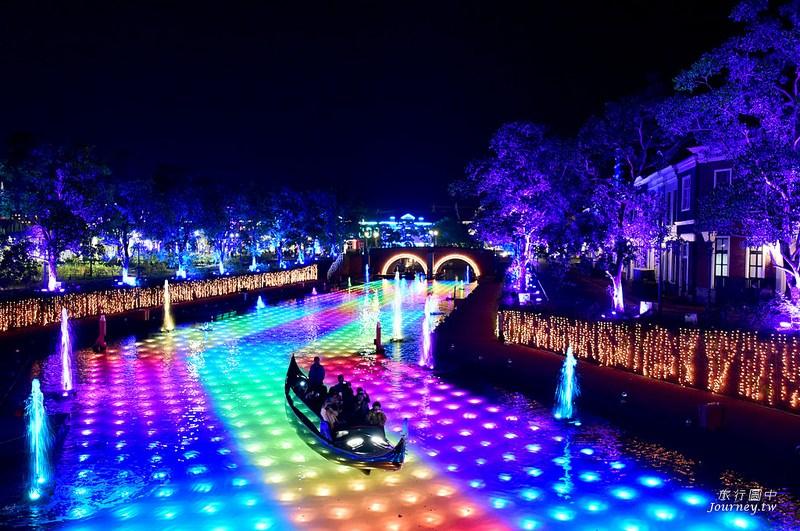 仿荷蘭風的經典樂園!到長崎體驗光之巡遊.夜晚超美的豪斯登堡