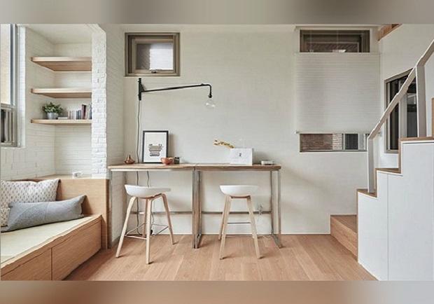 6坪小宅怎麼住?!錯位設計打造台北舒適小資宅