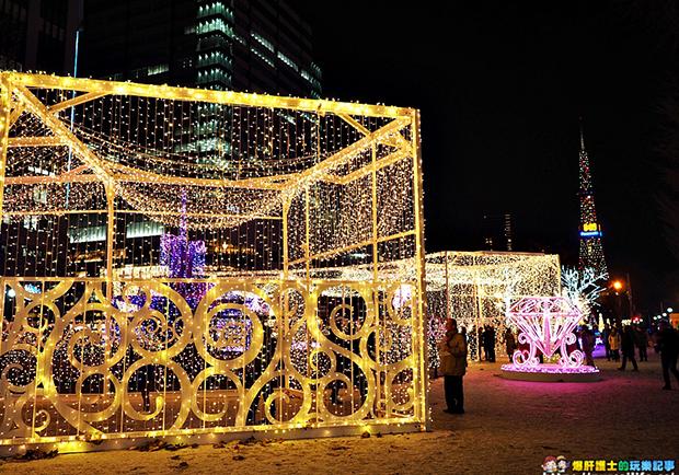 來札幌白色燈樹節!感受聖誕夢幻光影的美妙氣氛