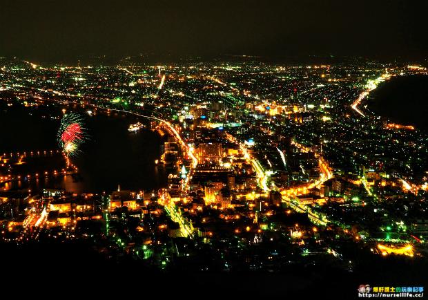號稱世界三大夜景之一!來北海道函館山,感受百萬夜景的感動