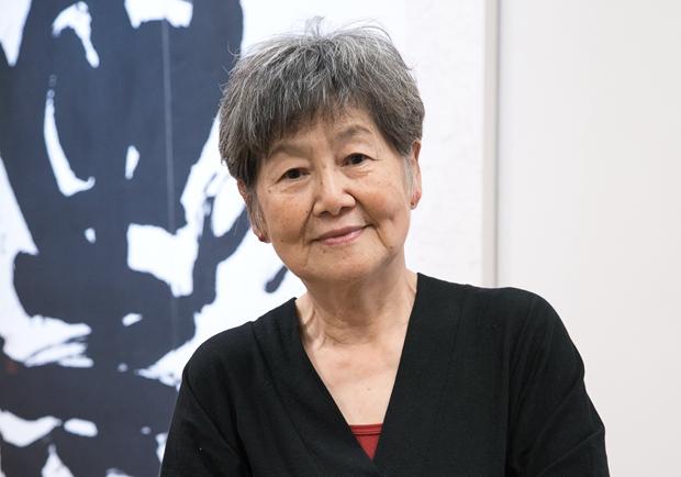 書法創作藝術家董陽孜:找回書寫的初心 體會書法線條之美