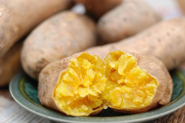 黃色蔬果,地瓜低卡高纖是排毒高手