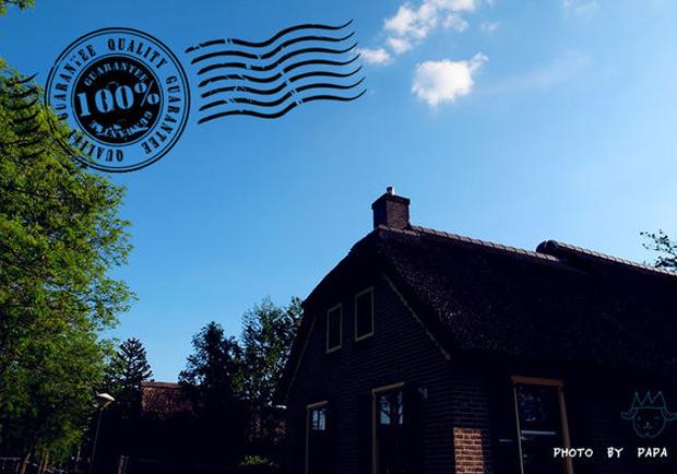 荷蘭羊角村:讓人想賴著不走的田園水莊