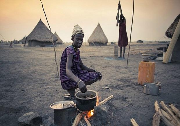 非洲有兩千萬人苦於饑荒……你更應該懂得惜福