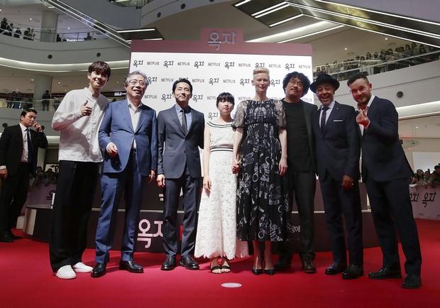 Netflix《玉子》亞洲首映,導演奉俊昊:「如果你愛動物,一定要看!」