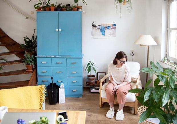 植物就是人生!荷蘭概念店總監 Lynn 的單人綠手指公寓