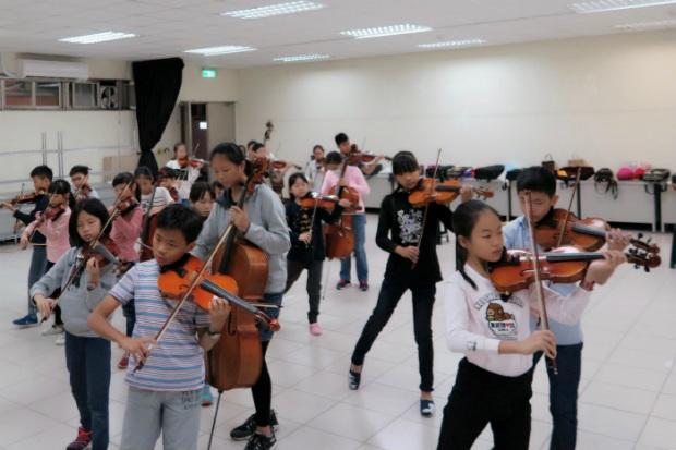 音樂幫助孩子們面對壓力