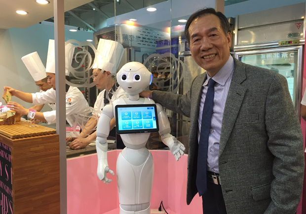 老字號《一之軒》數位化靠機器人帶來人氣