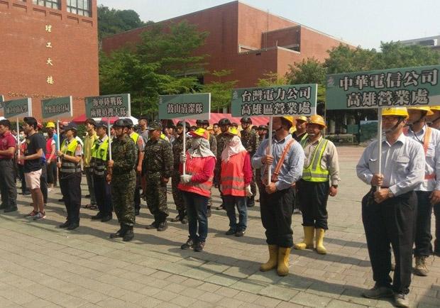 高雄柴山慢慢滑進台灣海峽 中山大學也在警戒區