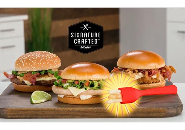 麥當勞發明一款薯條做的叉子 以後可以優雅地吃漢堡了