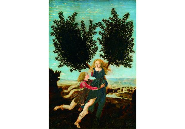 逃跑的女人─阿波羅與達芙妮