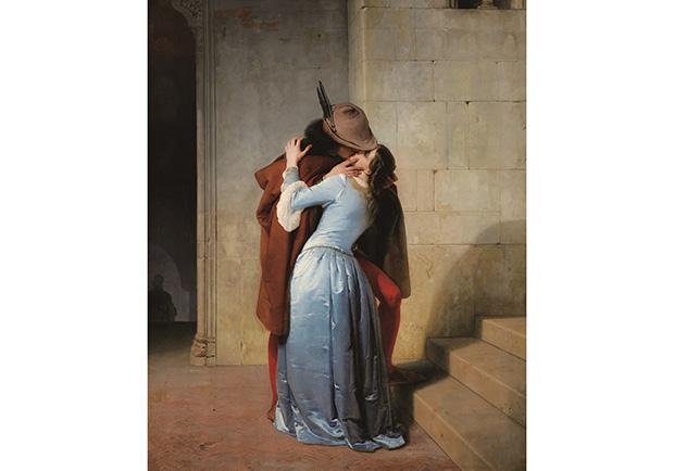 戀情的萌芽─接吻