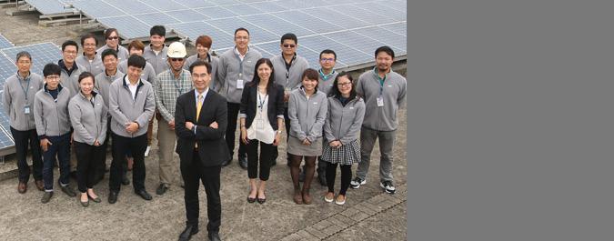 友達光電 自家屋頂蓋太陽能廠