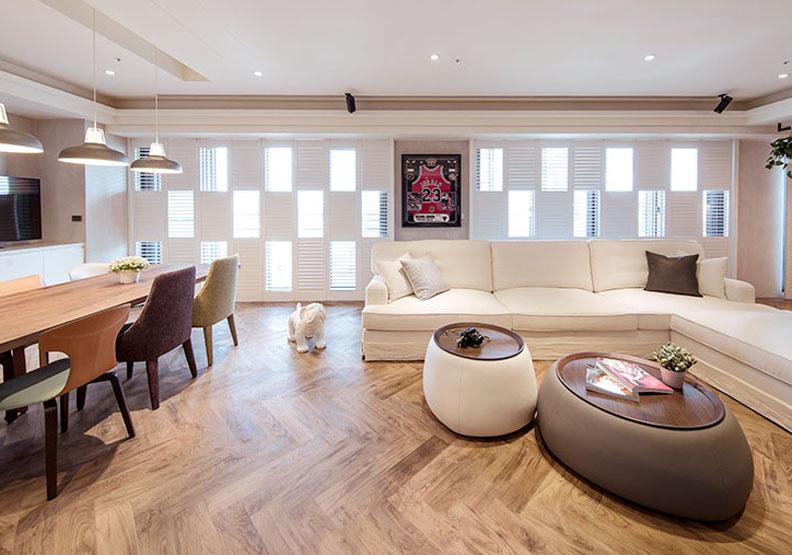 黑人范范的新家!台北 66 坪溫暖親子宅