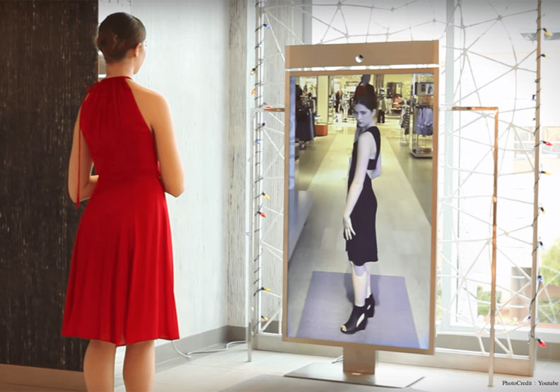 這面「魔鏡」可能改變世上所有的試衣間型態