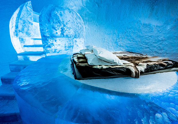 瑞典Ice Hotel睽違1年再度開張!從此連續365天營業不休館